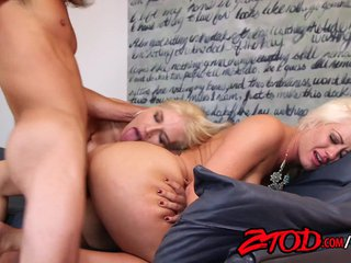 Sarah Vendella and Holly Heart cherish a cougar