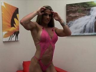 Bodybuilder Maria G Is Too Blaspheme X