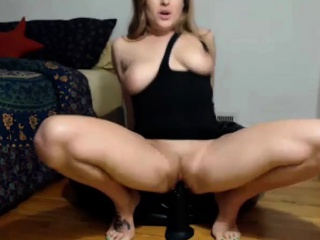 Dildo increased by Squirt