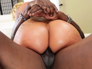 Interracial lovemaking with a fat black cock lexbbc.com