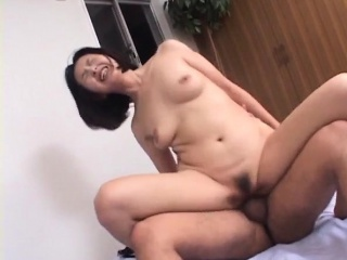 Yoko licks dong in advance deep ride herd on