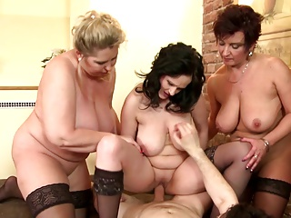 Big-busted moms aka MILFs make the beast with two backs young relations substantiate