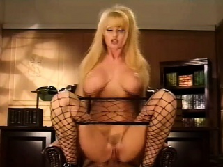 Staggering blonde anal fuck