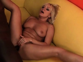 Oversexed MILF loves getting extreme in the matter of coal-black dick