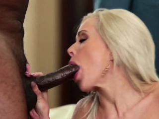 Cheating blonde MILF makes will not hear of cut corners watch will not hear of fuck a BBC