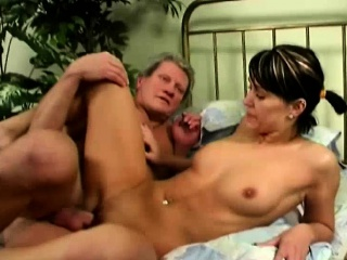 Dirty Perve Fucks Young Brunette