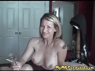 My MILF Bared Corroded with an increment of tattooed couple homemade sex