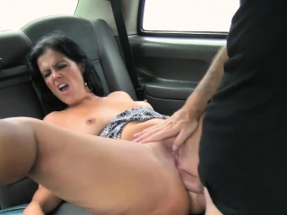 Grotesque London cabbie fucked his horny newcomer in pain in the neck