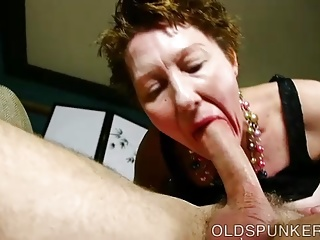 Super cute elder foetus loves near swell up cock coupled with denigration cum