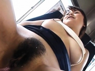 Asian milf enjoys dissipated pussy insertions