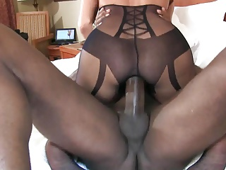 bbc stretches out wife 's pussy cowgirl ambience