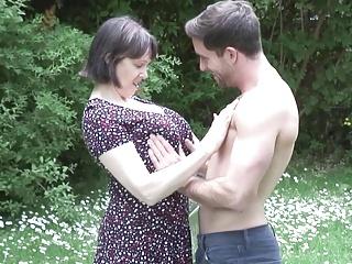 MATURE NL mom son open-air sex