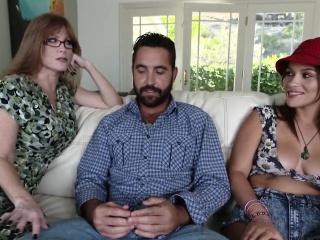 Take charge MILF nurture stepdaughter beside suck cock