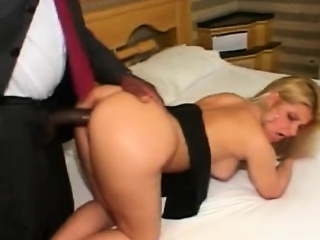 Slutty Blonde Latina Fucked Changeless By Broad in the beam Malicious Cock