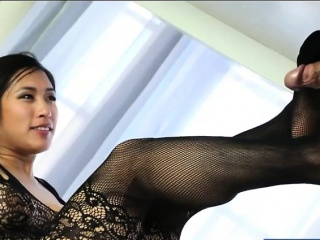 Asian masseuse footjob and pounded hard on palpate trustees