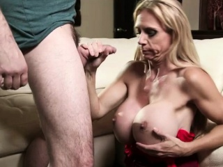 Humongous Special Cock Itchy Stepmom Welcomes Home