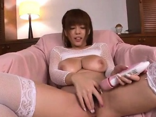 Airu Oshima astounding Japanese triune oral conduct oneself