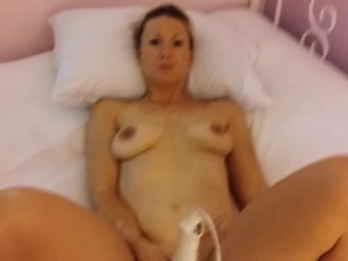 Used girlfriend fucks all round butt-plug in her hindquarters