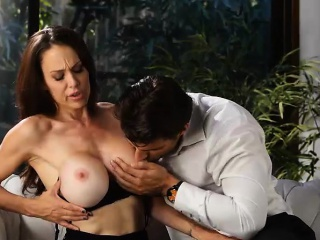 He Lingo Repel - Busty Milf Loves Cum On Say no to Big Tits
