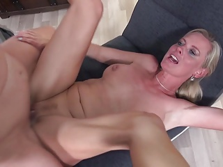Sexy mature moms fuck young perverted sons
