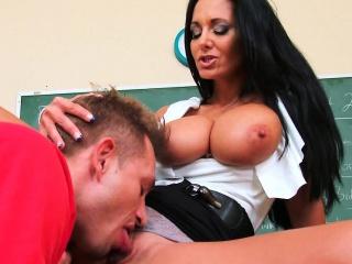 Student Fucks Obese Tits Nice Botheration Instructor Ava Addams
