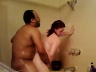 spying my moms interracial shower sex
