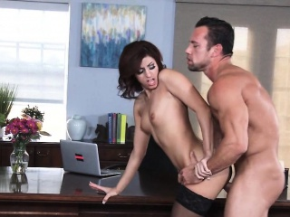 Glum Sweeping Fucked Back Office Shavelle Dote on