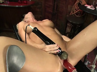 Hot milf bdsm with cumshot