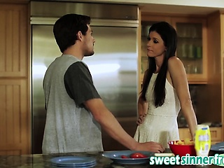 Milf India Summer Gets Banged In Pantry Off out of one's mind Big Impediment