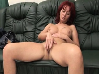 Big boobed caregiver fucked by one-legged pauper