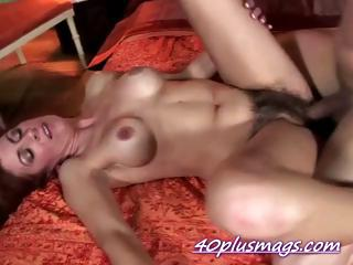 Pounding hairy housewife Karen