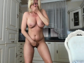 Charming Busty Milf Plays For You