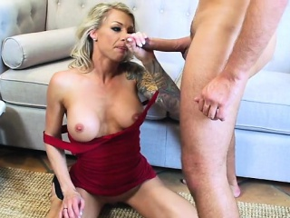 Obese tits milf doggystyle pov with cumshot