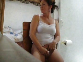 Women finish masturbate in advance getting caught