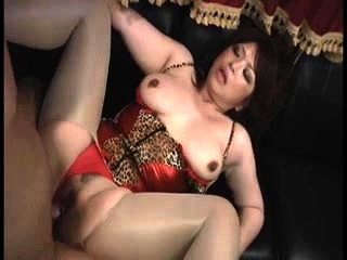 Big-busted Asian MILF connected with a bikini connected with hardcore DP skit