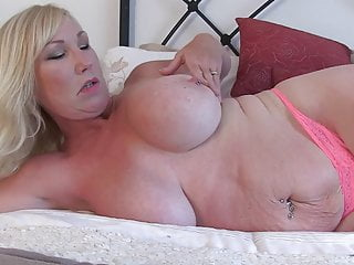 Big beautiful mom with busty tits and wet cunt