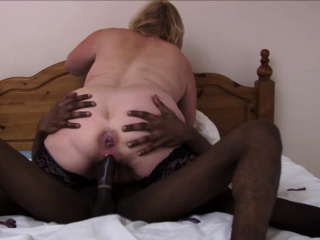 Granny in stockings gobbles added to rides