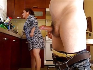 Big latina granny fucked in the caboose