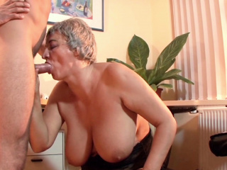 Big Saggy Tits Ancient Granny Seduce Virgin Huge Son nearly Fuck