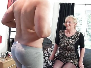 British old slut's cunt requires a extreme beamy cock every day