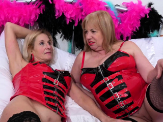 OldNannY Two Busty Of age Lesbians Play Hot Conviviality