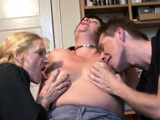 Big boobed mature pleasured hard by man increased by cookie