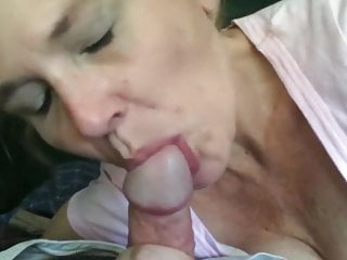 58 Years Superannuated Mature Staggering Blowjob