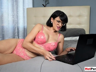 Recognizing porn near my big boobed mature stepfather