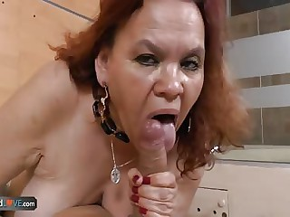 AgedLove heavy latin mature Gloria hardcore