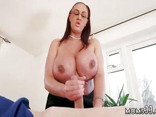 Mom gives lespatron' compeer Big Tit Step-Mom Gets a