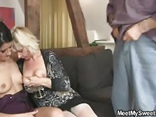 porno meerschaum His GF shares his dad's flannel at hand his mam