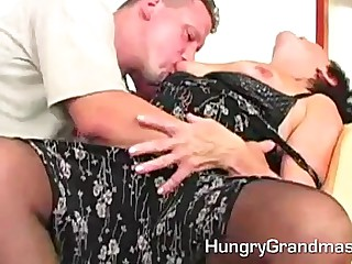 Slutty Prudish Granny Carla