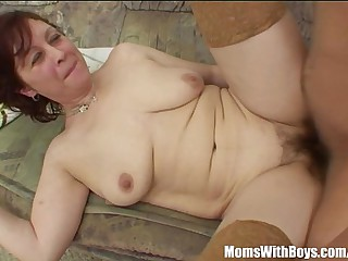 Stepmom In Stockings Back Victorian Pussy Fucked
