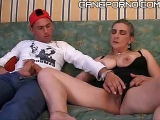 Son fucks her materfamilias - incesto italiano